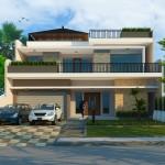3D rumah Pak Paul - Desain Rumah Arsitek 77