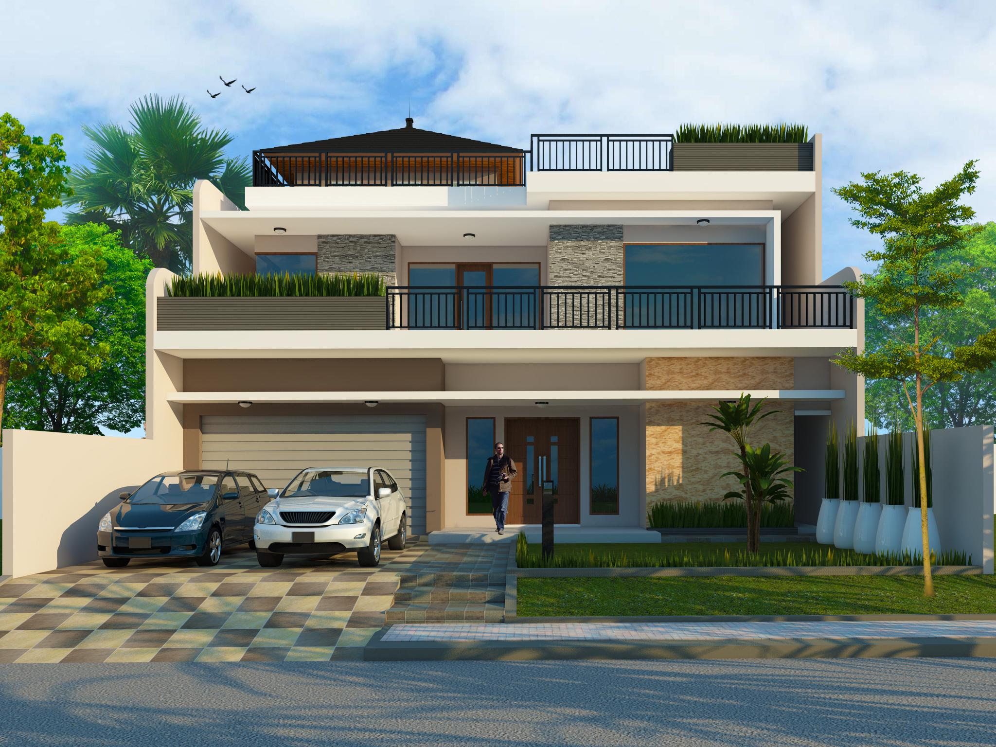Gambar Desain Rumah Arsitek