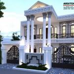 Desain rumah tinggal pak hutapea _ bantar gebang bekasi