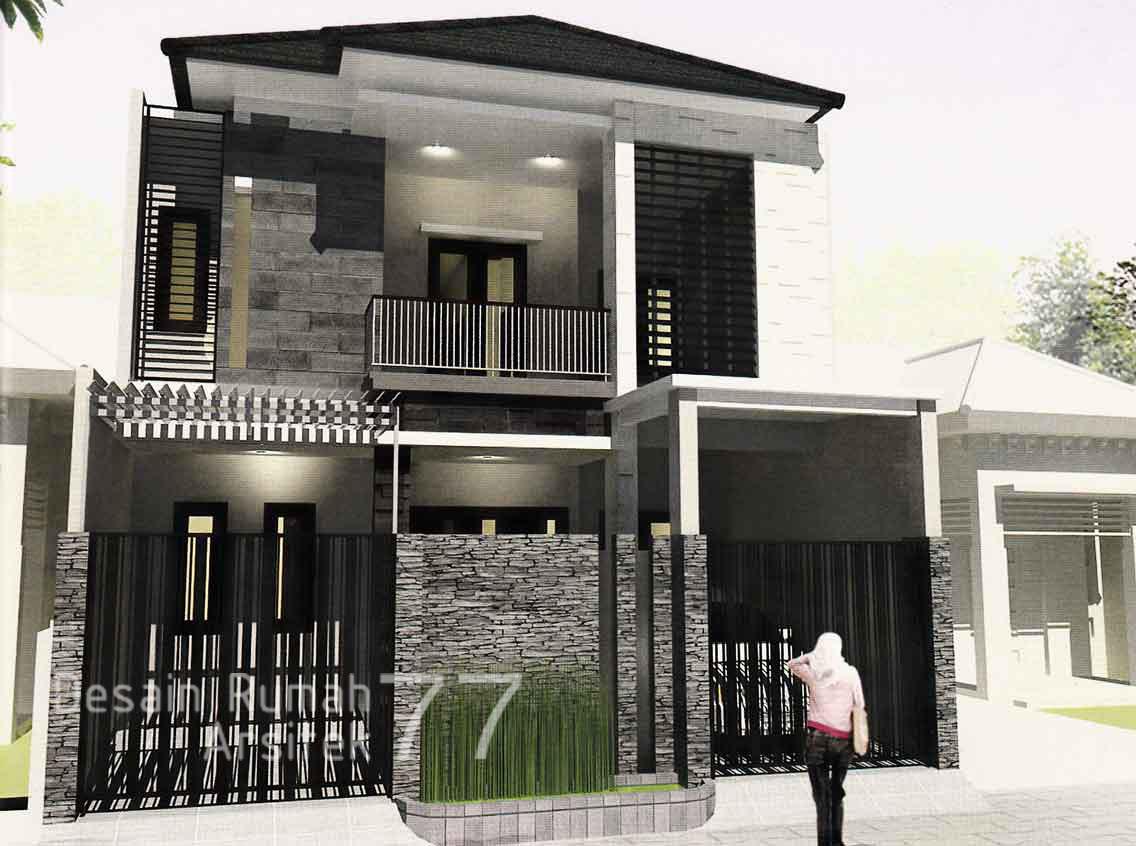 Desain Bangun Rumah Arsitek & Desain Rumah Arsitek 77