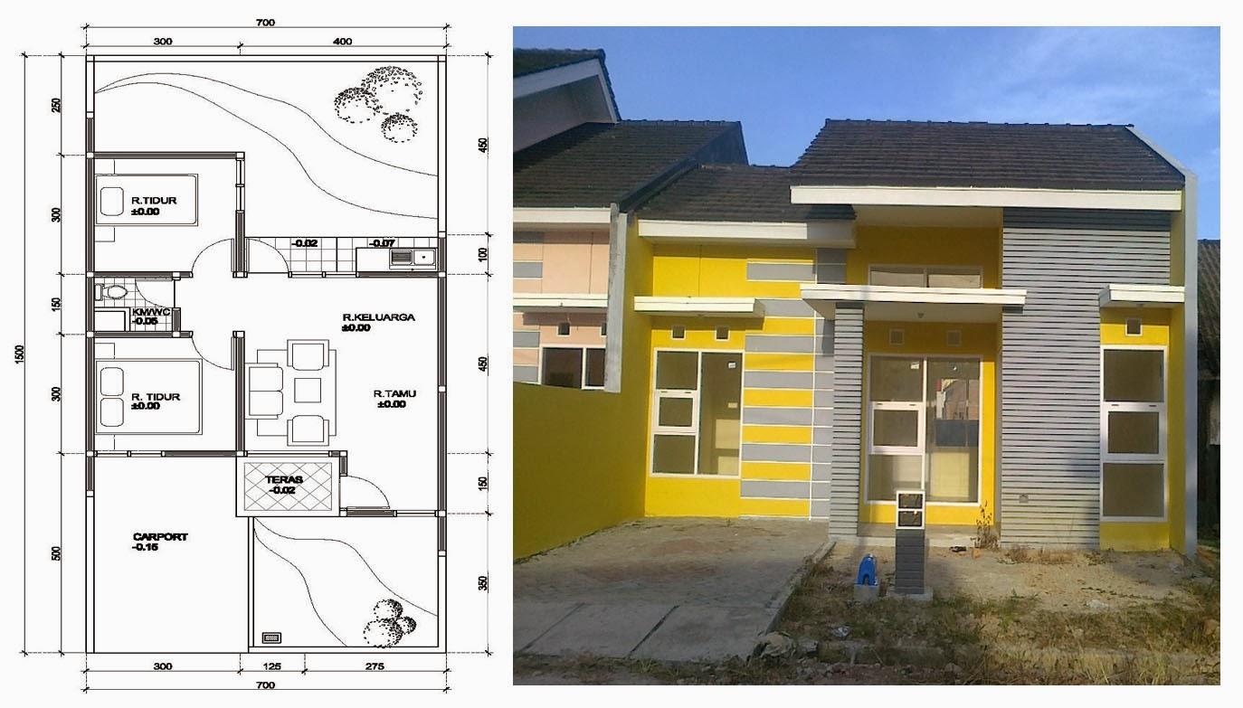 Desain Rumah Arsitek 77
