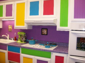 Tips Warna Warni Dapur