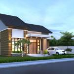 Desain rumah pak sony Bekasi
