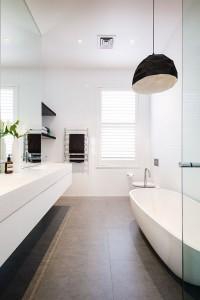 White Bathroom, Contempory