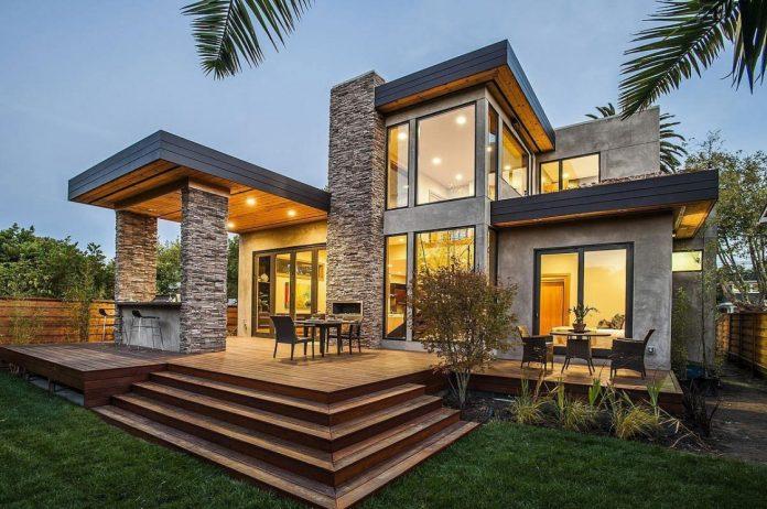 Menggunakan Atap Datar Agar Rumah Terlihat Modern