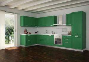 Desain Dapur colorful