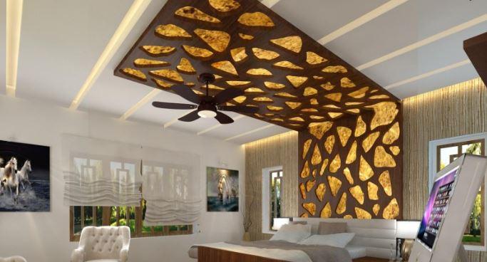15 iNSFIRASI Desain Plafon Rumah Bikin Betah Di Rumah, jasa arsitek