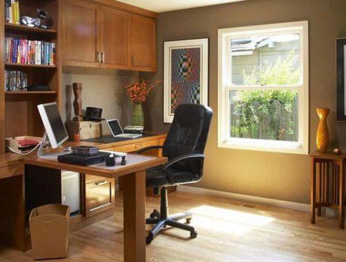 TIPS Membuat Ruang Kerja Di Rumah
