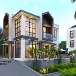 DESAIN RUMAH GUEST HOUSE RQV