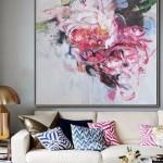 lukisan ruang tamu